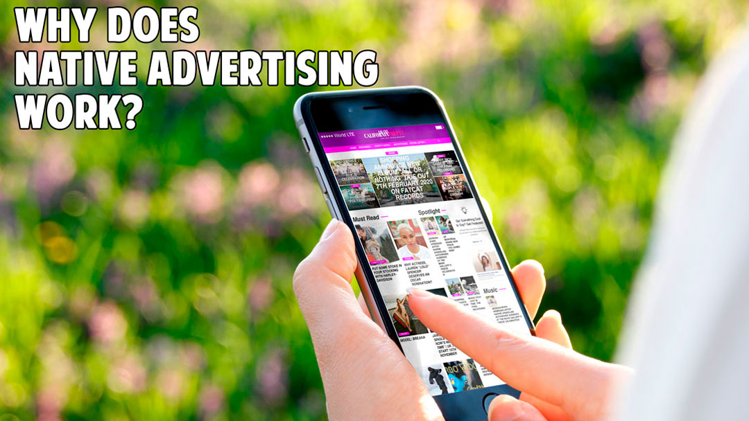 Why Does Native Advertising Work?